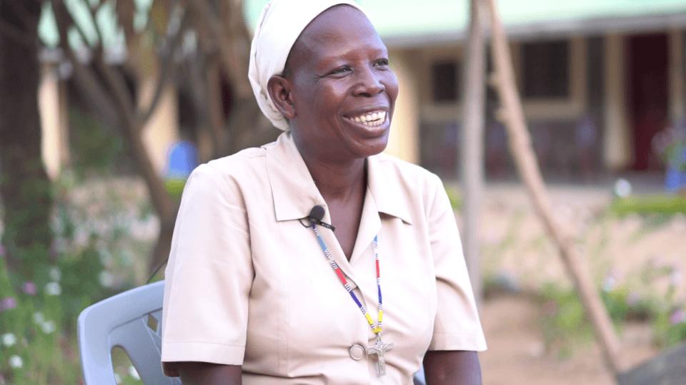 Sister Angelina at St Theresa Hospital in South Sudan_smiling