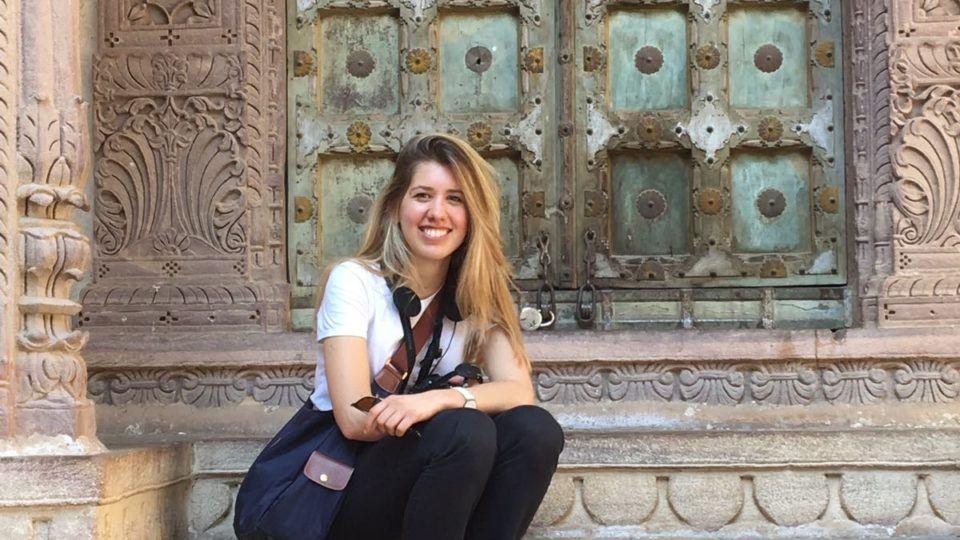 Veronica in Jaipur, India