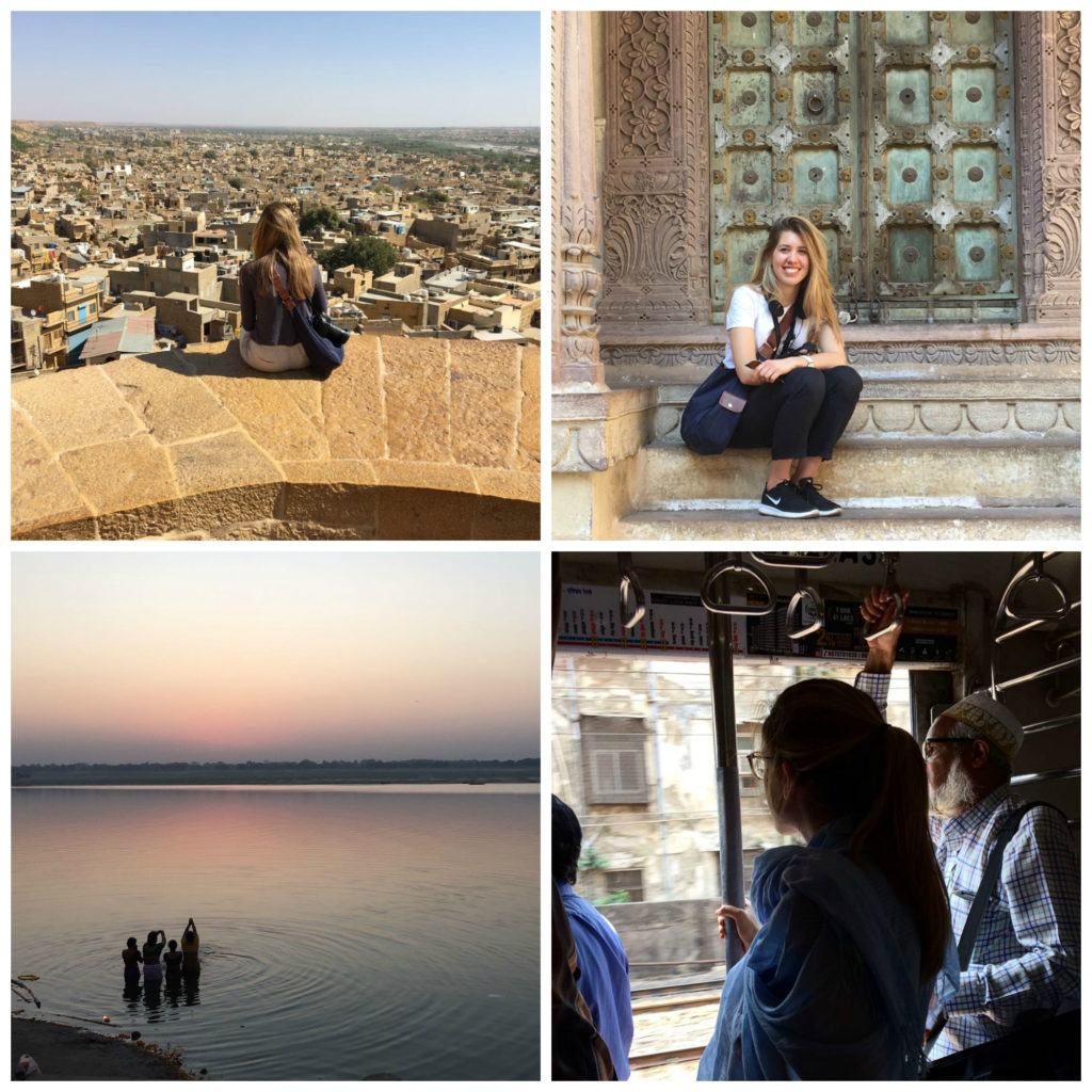 Veronica travels around India