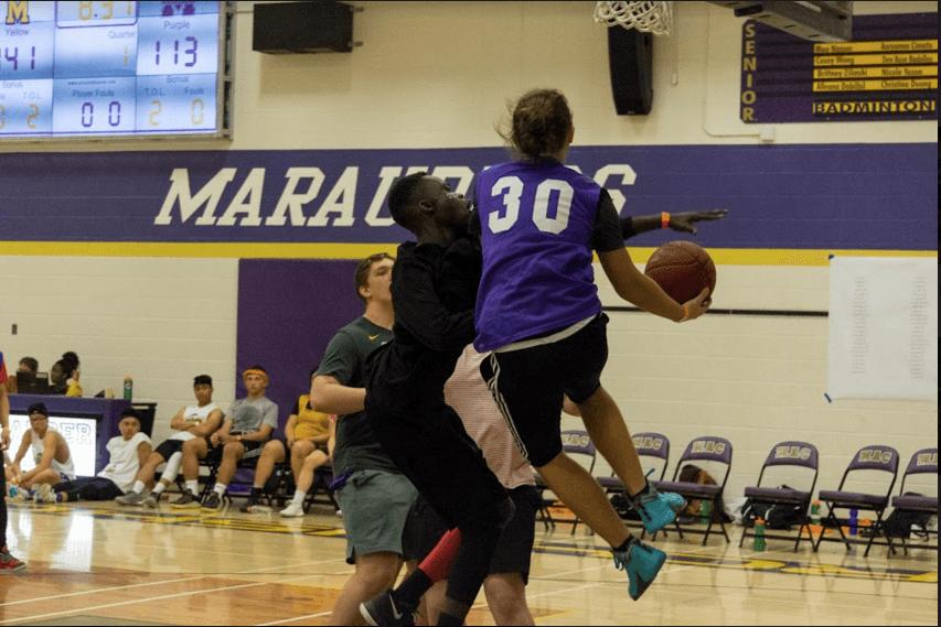 Archbishop MacDonald High School basketball Marathon CMMB
