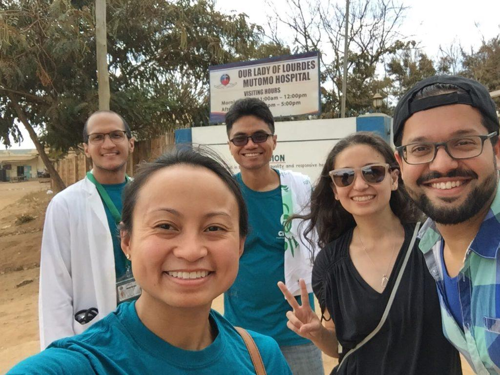 Authority Health Residents and fellow CMMB Volunteers