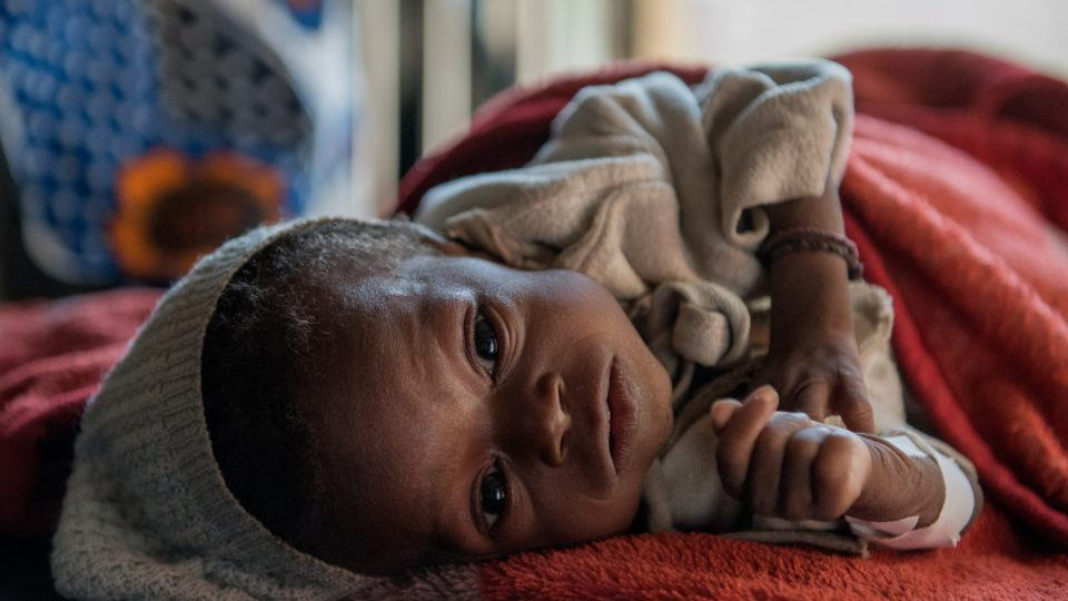 Baby Innutu is very sick. You can help.