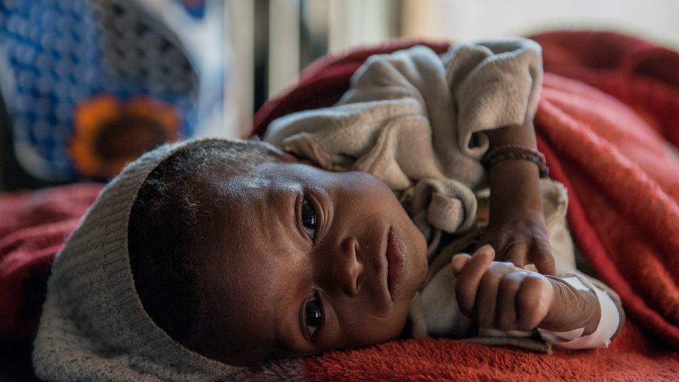 Baby Innutu is very sick. You can help.