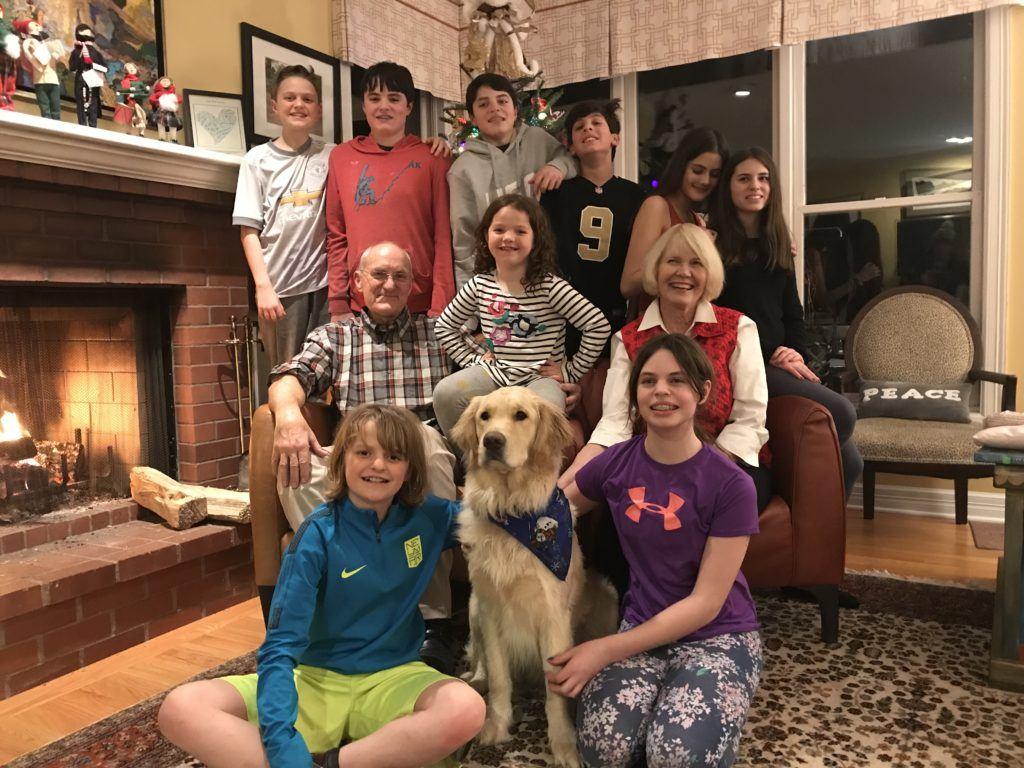 Dr. Jim and his family celebrating Christmas!