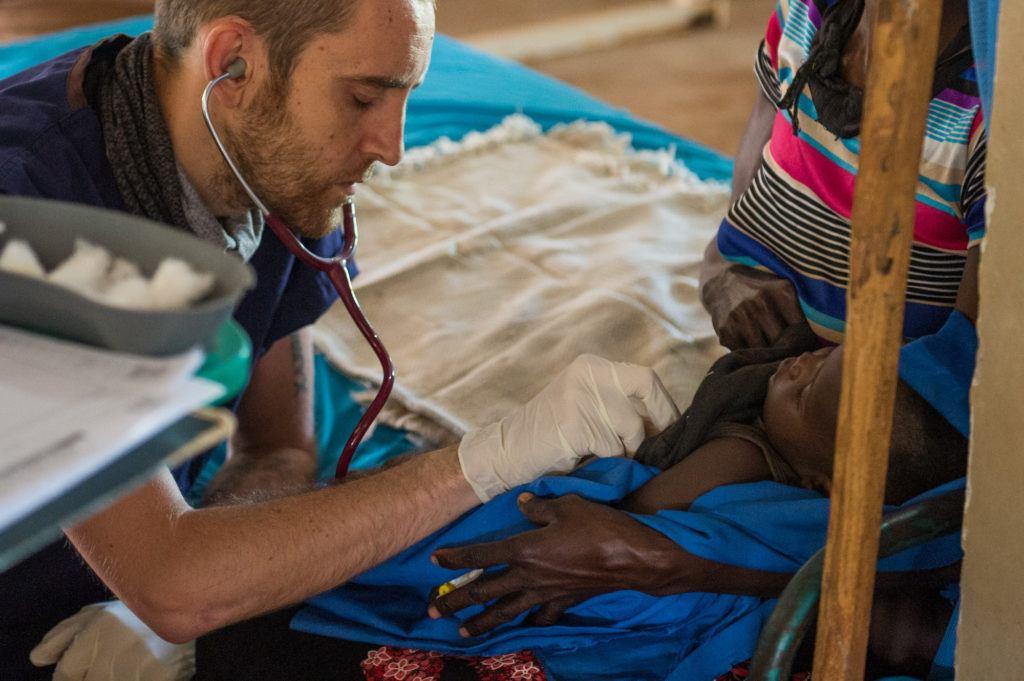 Dr. Matthew Jones is an UK trained doctor serving in South Sudan