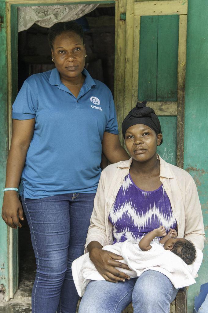 Joanne, community health worker