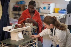 Stephanie Summa at Mwandi Mission Hospital