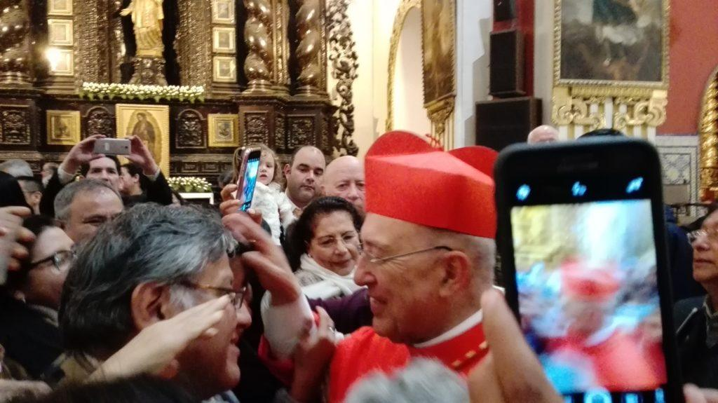 The Newly appointed Cardinal