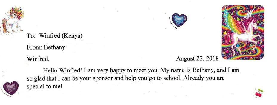 sponsor letter excerpt 1