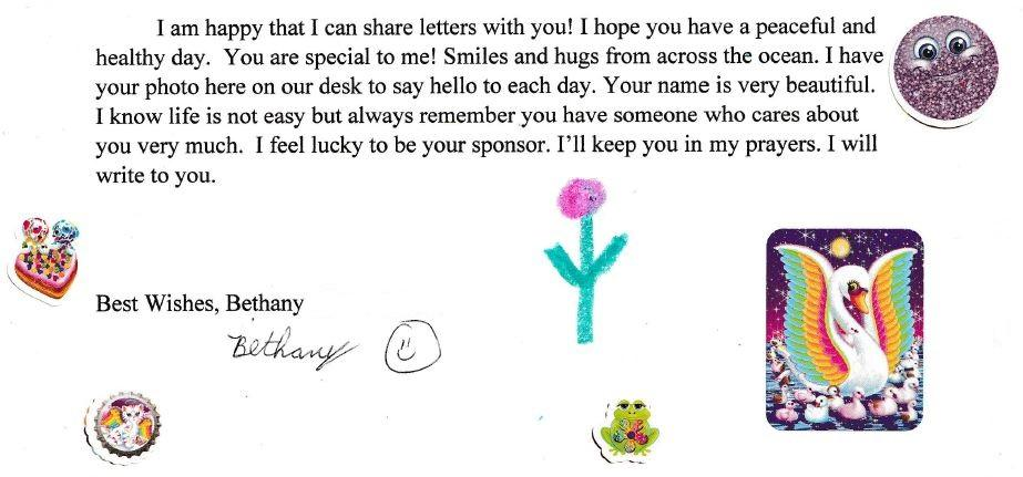 sponsor letter excerpt 3