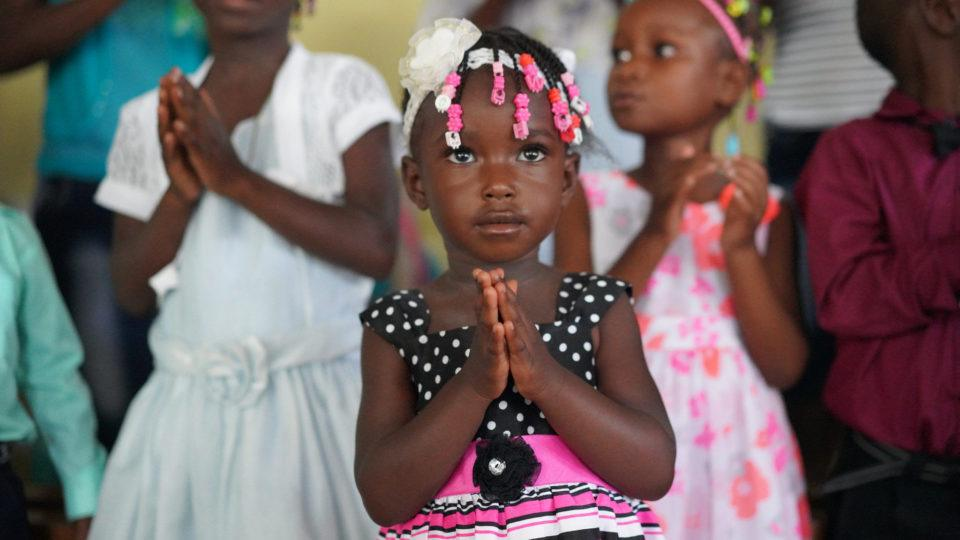 Angel Fabiola in Haiti
