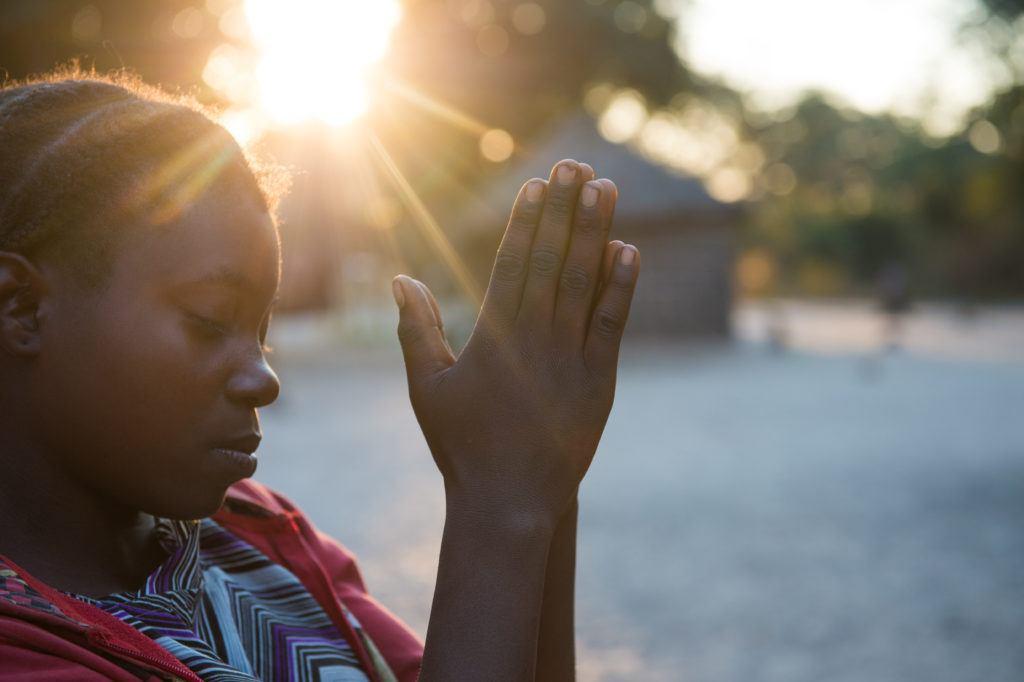 Mbongi Muliata in her village in Mwandi, Zambia.