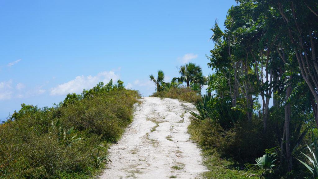 The terrain of Haiti
