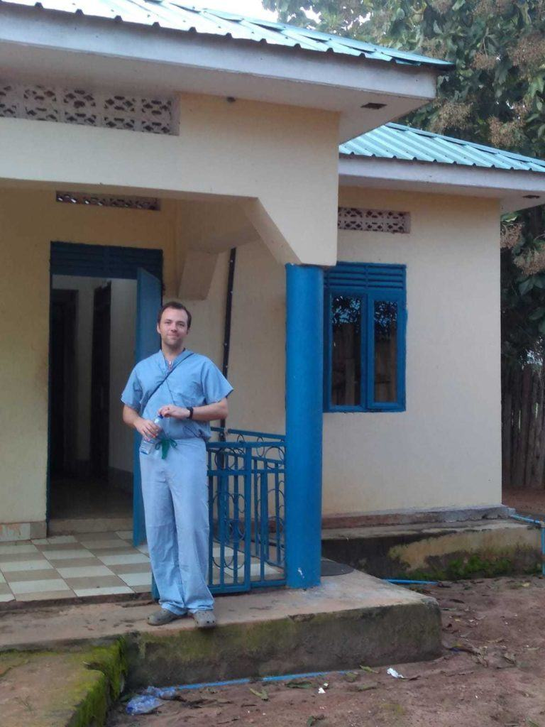 Dr. Daniel Maxwell is serving at Yambio State Hospital in South Sudan.