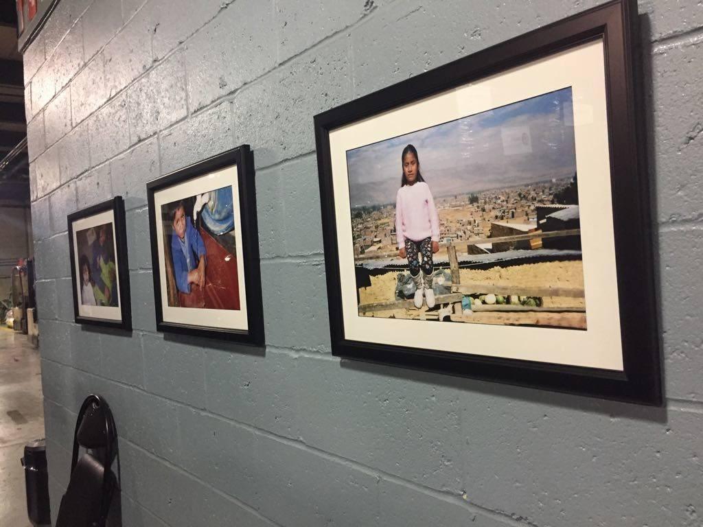 photos at displayed at the DC