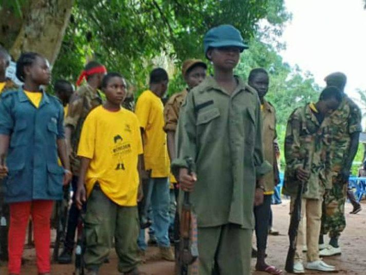 More child soldiers released in South Sudan