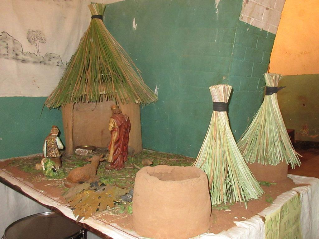 Nativity at church in South Sudan