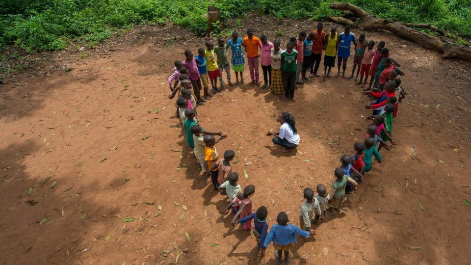 Playing for peace with formerly released child soldiers
