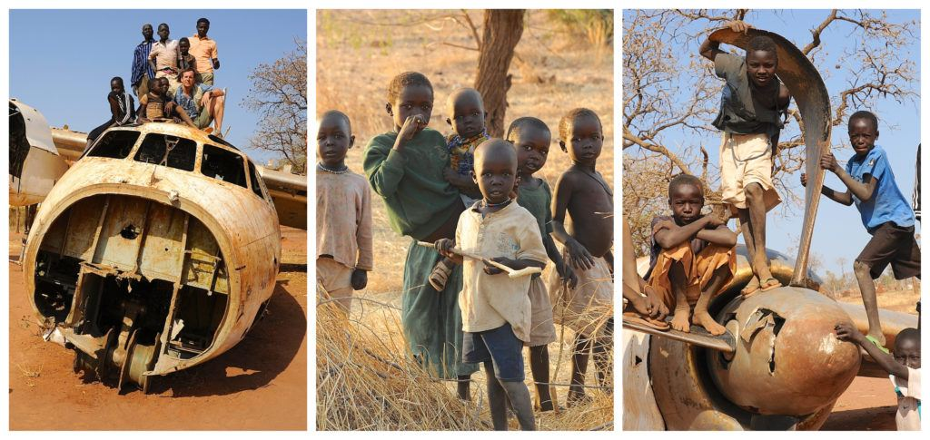 Heart of Nuba Collage