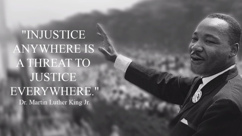 Martin Luther King Day 2019 We Are All One Humanity Cmmb