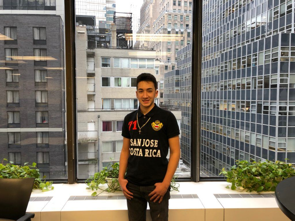 Omar is a Cristo Rey intern at CMMB