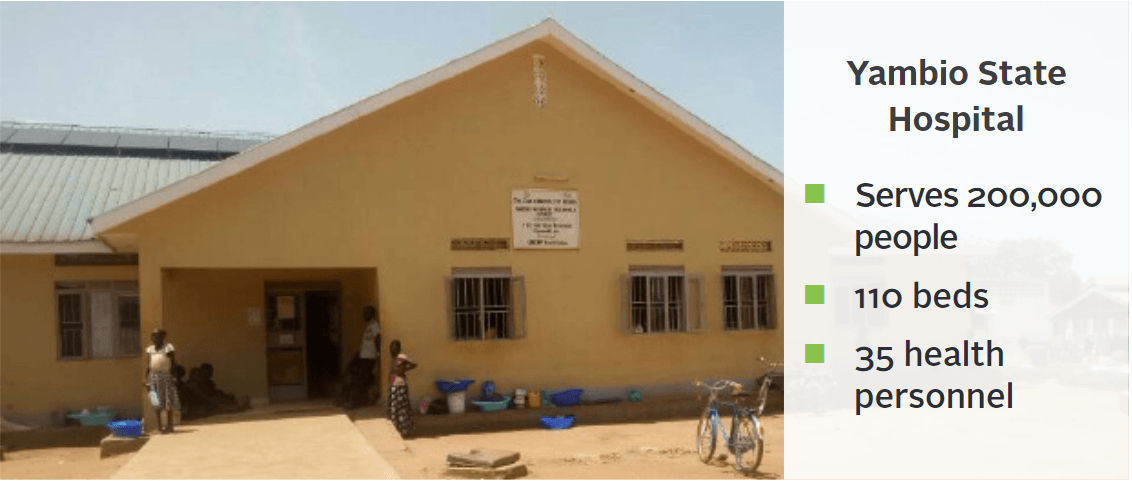 yambio state hospital and stats