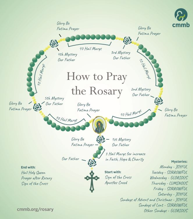 Praying The Rosary A How To Guide Cmmb Blog