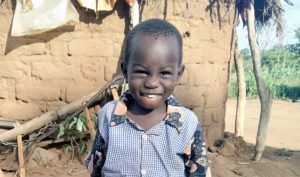 4-year-old Moses in Kenya