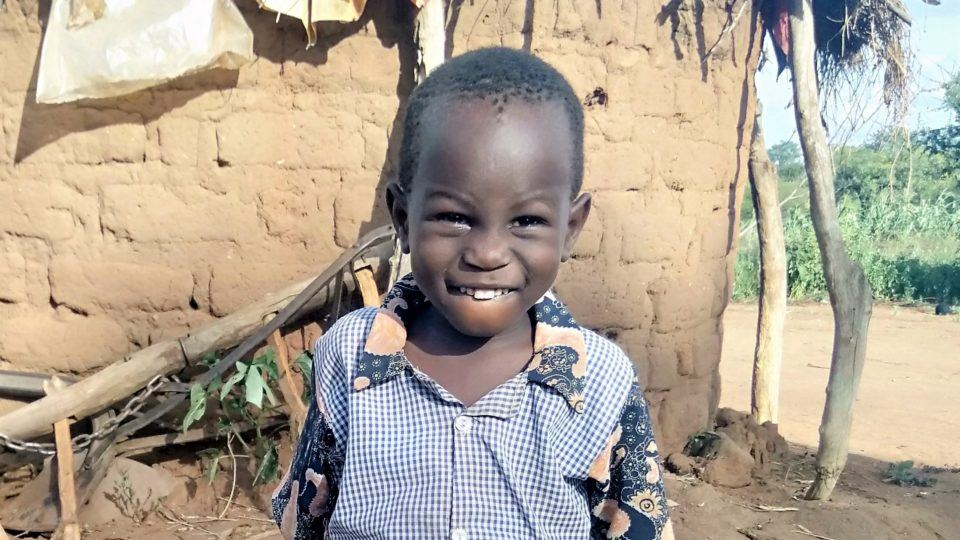 4-year-old Moses in Kenya