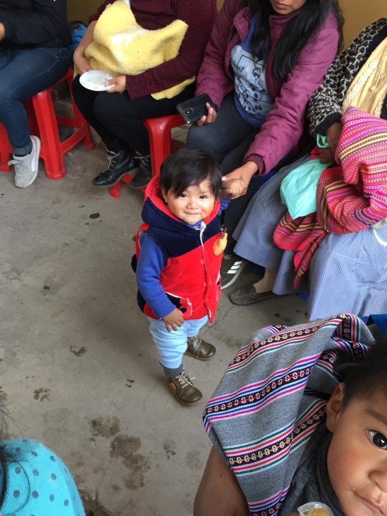 Children at a nutritional workshop in La Esperanza