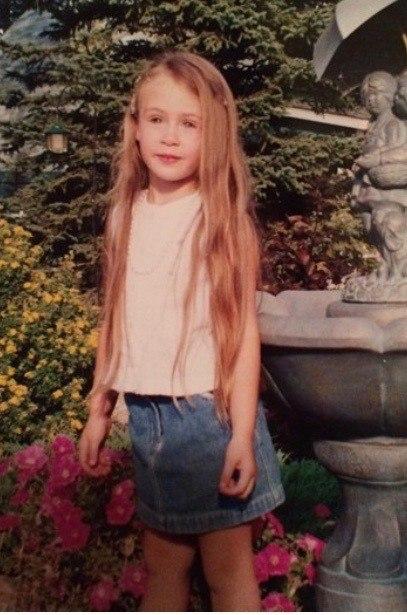 A baby photo of Nina