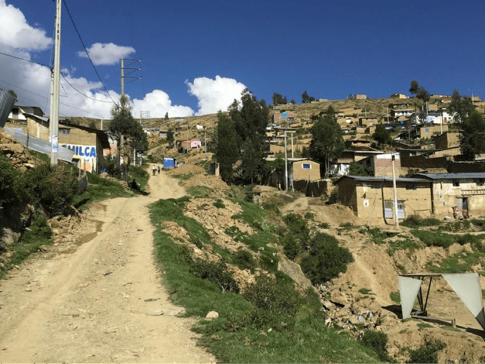 A landscape image of La Esperanza