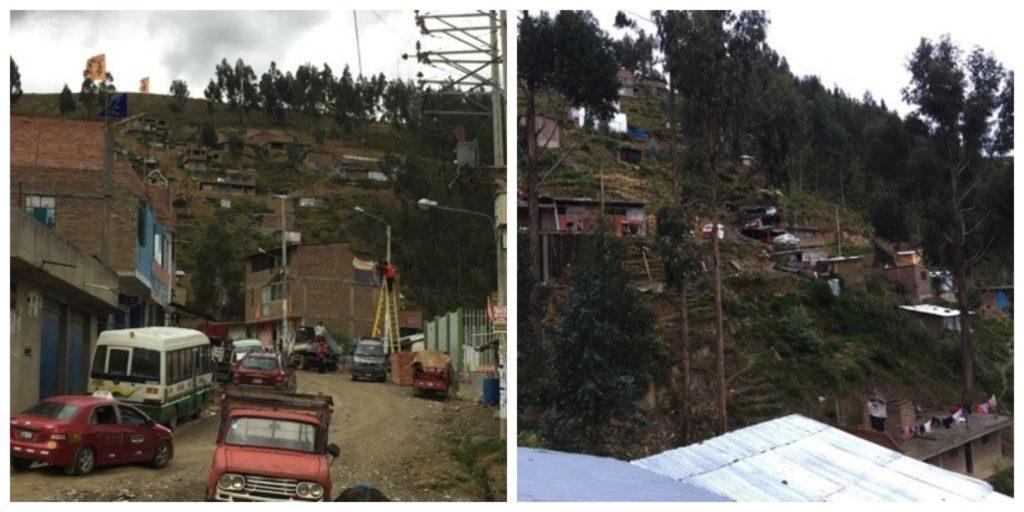 A collage of La Esperanza in Peru