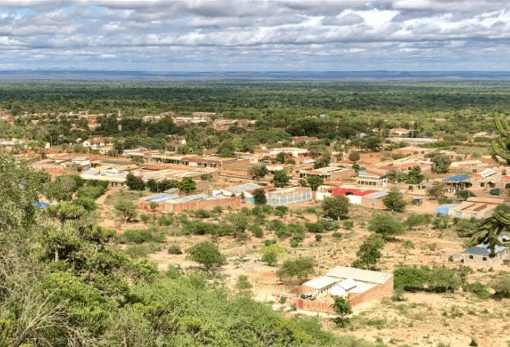Landscape image of mutomo, Kenya's terrain