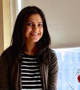 Headshot of new volunteer, Nandita