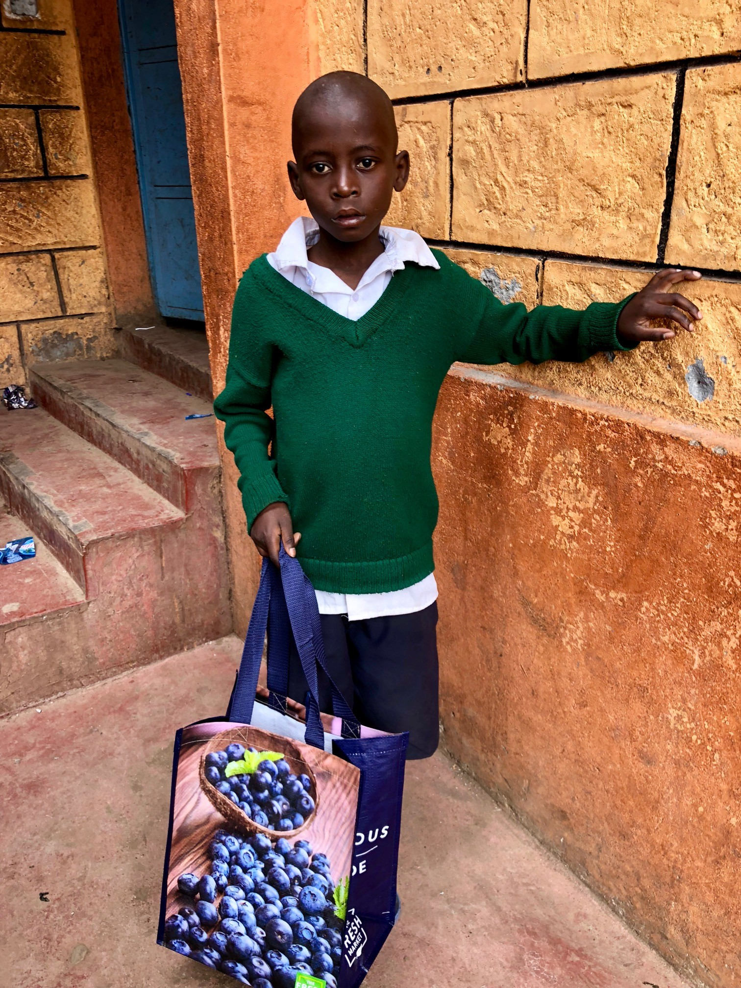 Harold is a young boy who was treated by Crossing Threshold's medical intervention. CMMB provided Crossing Threshold with the medical supplies needed to treat Harold
