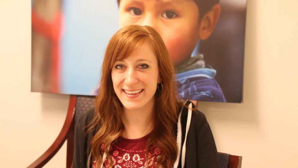 Mandi Clark at CMMBs volunteer orientation