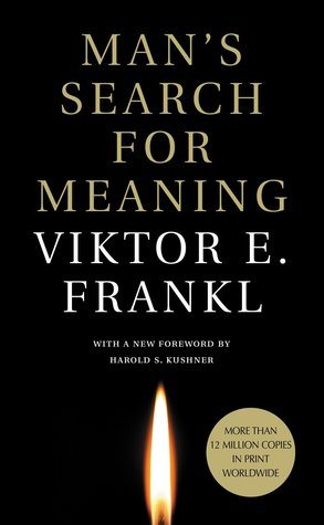 """Book cover for the novel, """"Man's Search for Meaning"""""""