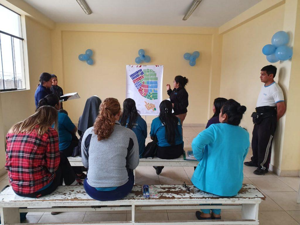 cmmb meets with health facility teams in trujillo, peru