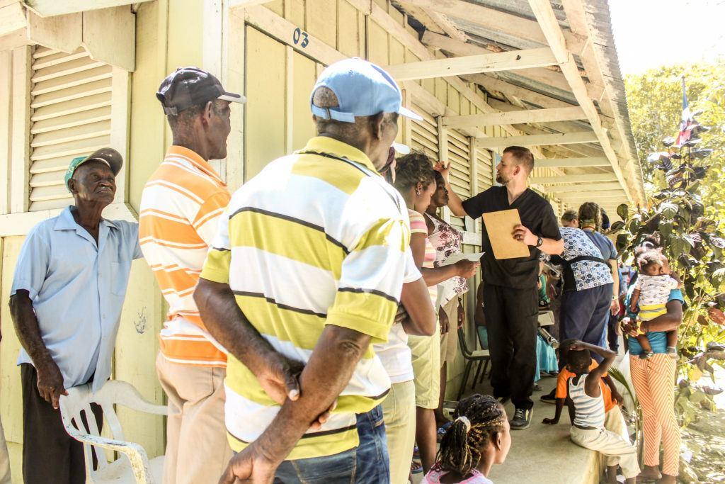 residents of the batey in Haiti receive care at the Fundacion Hospital Buen Samaritano