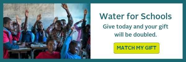 water for schools graphic