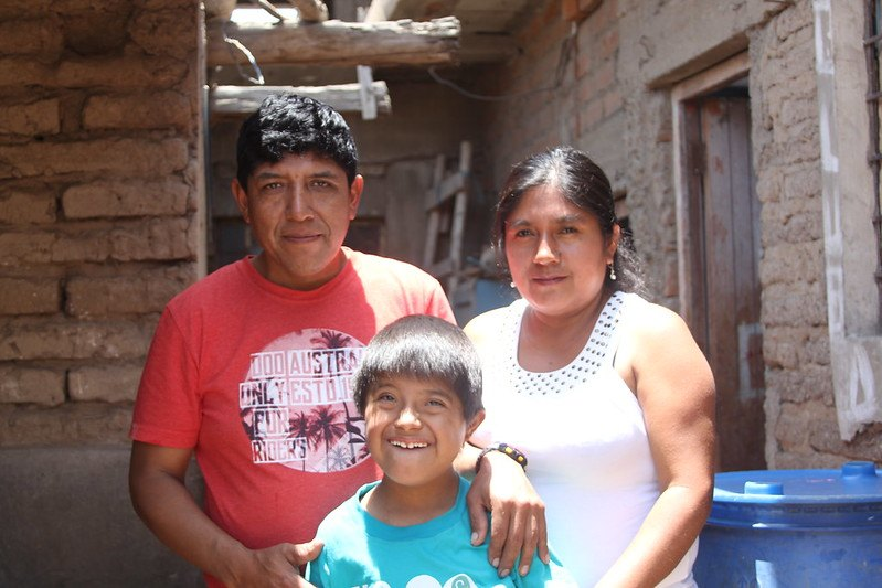 parents in peru care for disabled child