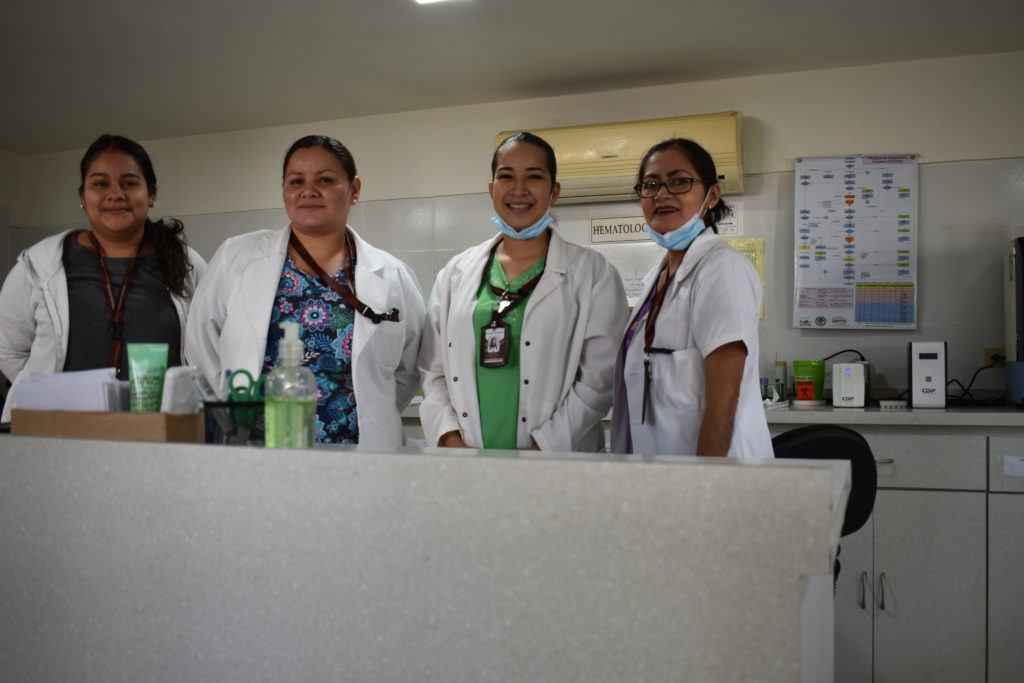 labratory staff in el salvador