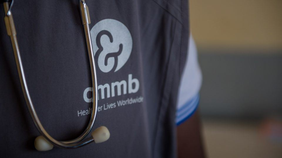 Stethoscope and cmmb logo vest
