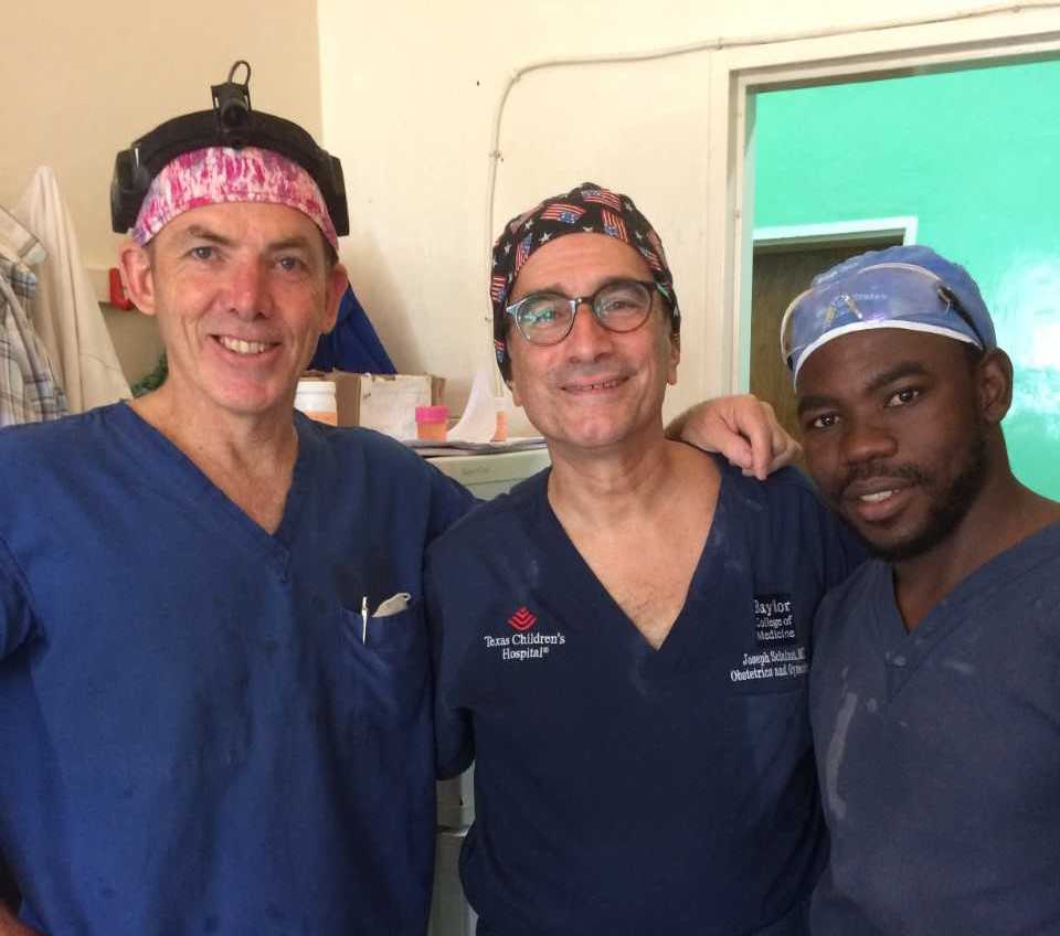 Dr. Sclafani serves in Malawi