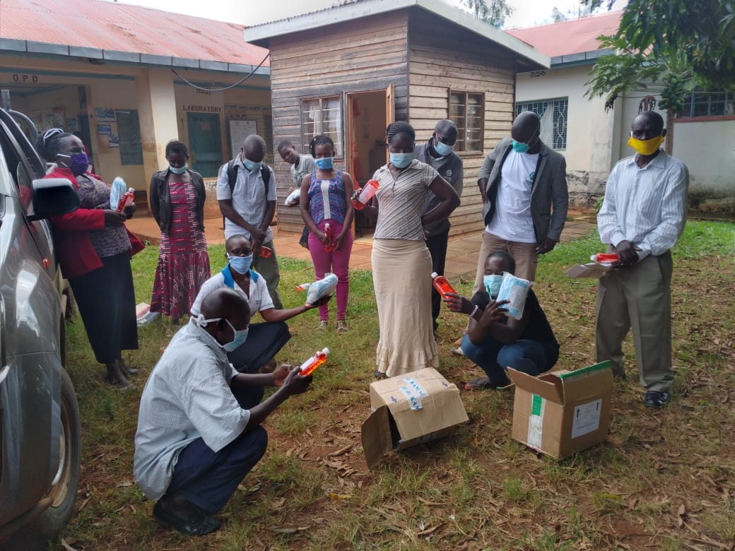 CHWs receive PPE