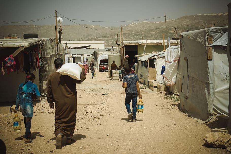 Syrian refugee camp lebanon