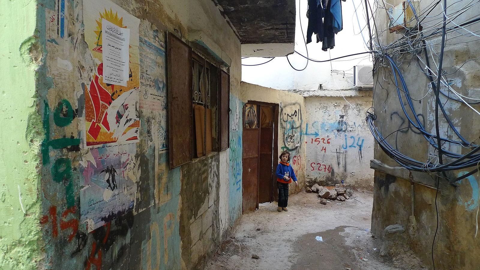 Lebanon refugee camp