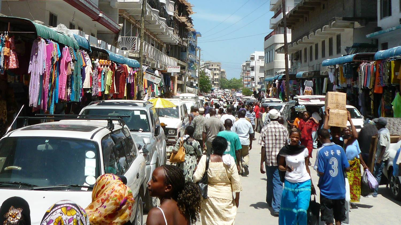 Market in Dar Salaam