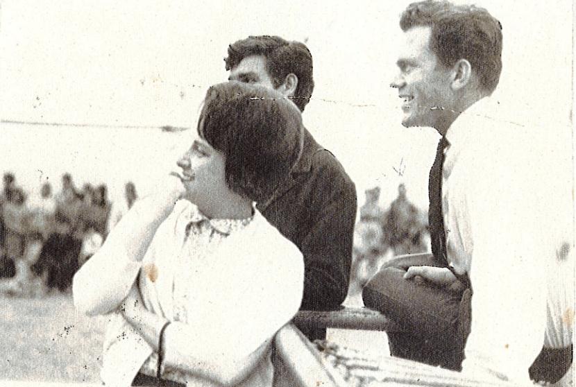 Pat and her husband Stefan, Peru 1968